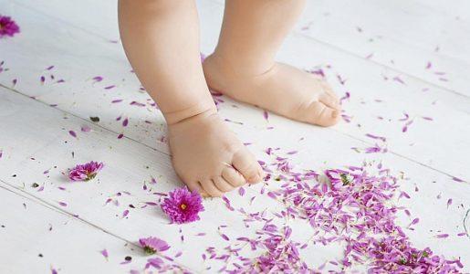 Бебешки обувки за прохождане